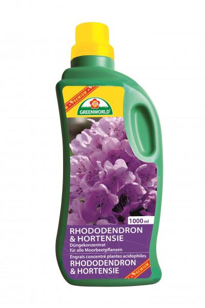 Engrais liquide Rhododendrons et Hortensia 1l