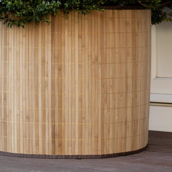 Bambus Deko- und Frostschutzmanschette