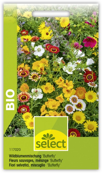 Bio Wildblumenmischung 'Butterfly'