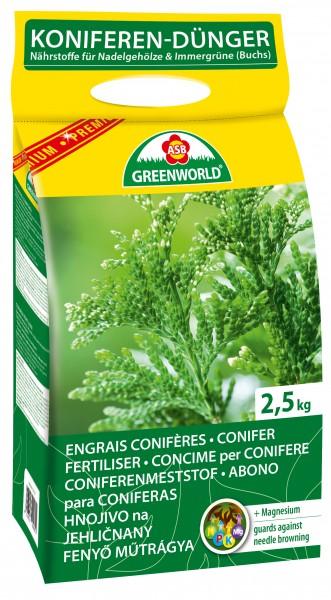 Engrais granulé Conifères et Arbustes 2.5kg