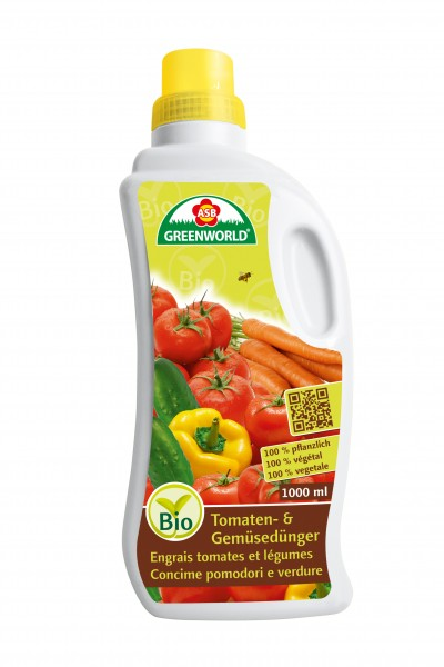 ASB Bio Tomaten- & Gemüsedünger (flüssig)
