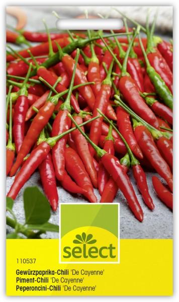 Gewürzpaprika-Chili 'De Cayenne'
