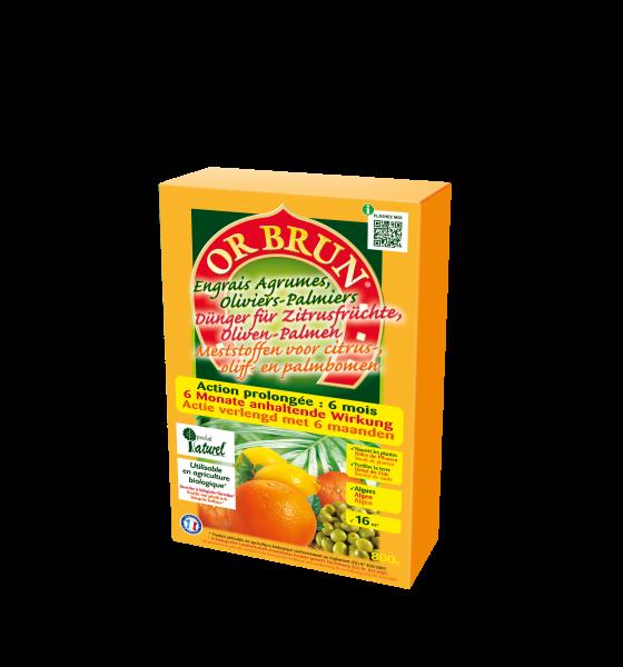 Or Brun Dünger für Zitrusfrüchte, Oliven & Palmen