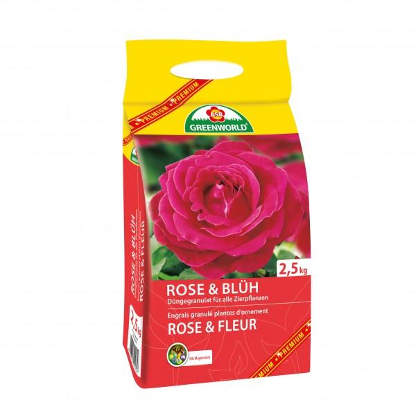 Engrais granulé Rosiers et Plantes à fleur 2.5kg