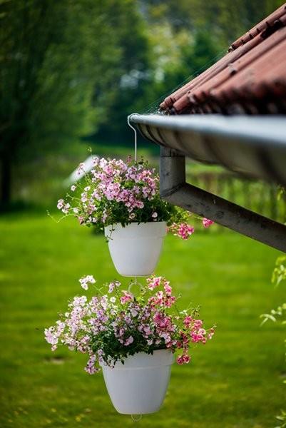 Patère pour pot de fleurs