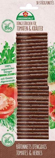 ASB BIO Düngestäbchen Tomaten & Kräuter 30 Stk.