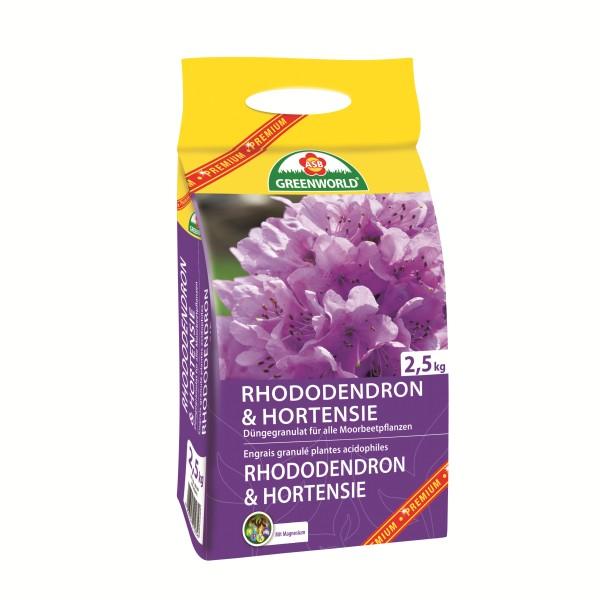 Engrais granulé Rhododendrons et Hortensia 2.5kg