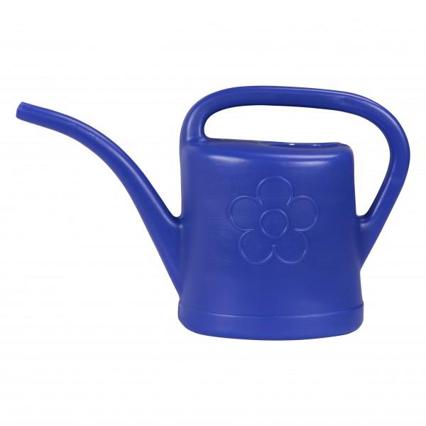 Arrosoir en plastique bleu 3l sans pomme