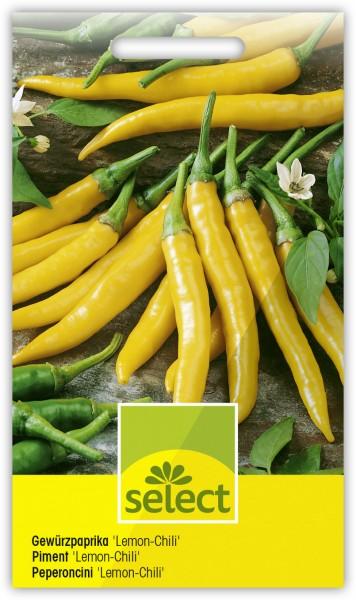 Gewürzpaprika 'Lemon-Chili' - Capsicum annuum