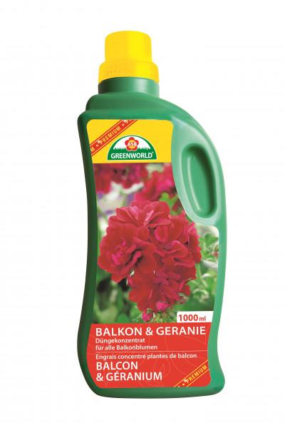Engrais liquide Plantes de balcon et Géran 1l