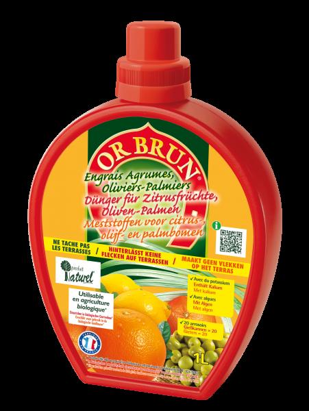 Or Brun Dünger für Zitrusfrüchte und Oliven-Palmen
