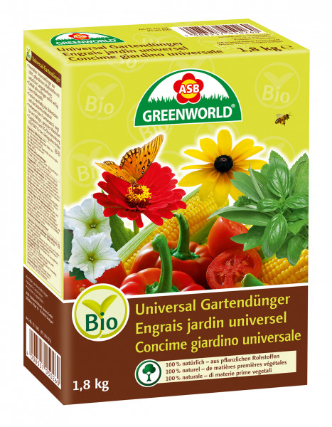 ASB universal engrais de jardin (granulat)
